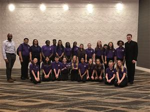 Hampton Middle's Advanced Chorus Receives Gold Ratings From Each Judge At Southern Music Festival!